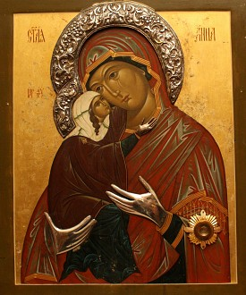 The history of the miracle-working icon of St. Anna