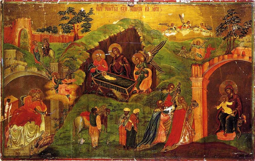 Nativity and adoration of the Magi, first third of XIX c, Yekaterinburg
